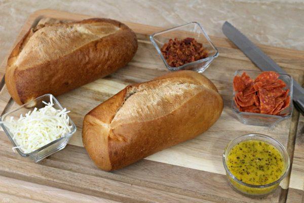 Italian Pizza Bread Ingredients