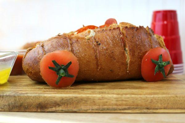 Easy Racecar Pizza Bread Recipe