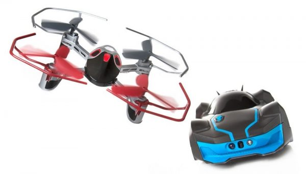 Car and Drone Battle Set