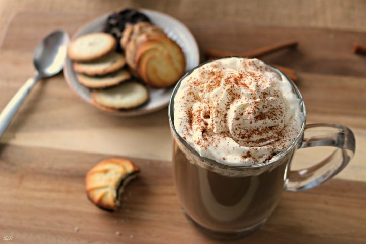 Easy chocolate coffee with a spicy kick