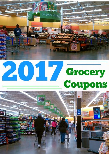 Grocery Coupons 2017! Get all of the best grocery coupons to save money in 2017! Easy printable grocery coupon options to save on your weekly shopping trip!