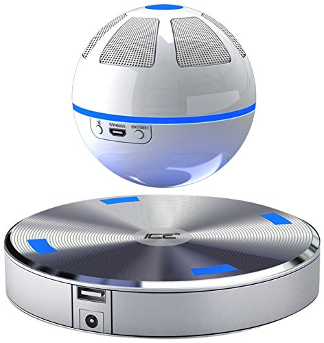 Floating bluetooth speaker! This fun floating speaker plays 360 degrees of sound, music and entertainment!