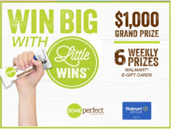 Check out this great Ibotta offer: Earn $1 by purchasing 1 5-pack of ZonePerfect® bars at Walmart. *Offer available while supplies last. #MyLittleWins