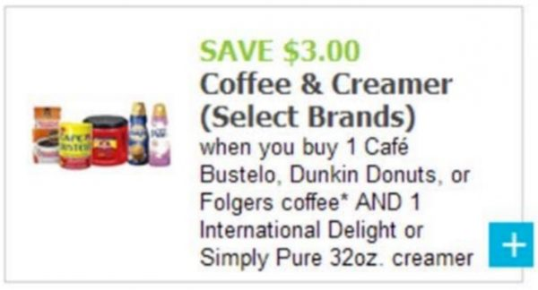 Save $3 on Coffee and Coffee Creamer with this offer! See how easy it is to save!