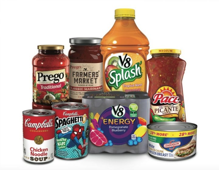 Savings Coupon for Prego, Pace, V8, Swanson and Campbells! Stock up for back to school with these savings! #CampbellsShortcutMeals