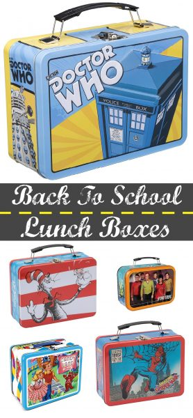 Back To School Lunch Boxes! Check out these retro style old school lunchboxes!