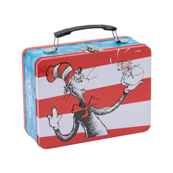 The Cat In The Hat Old School Lunchbox and many other retro style lunch boxes!