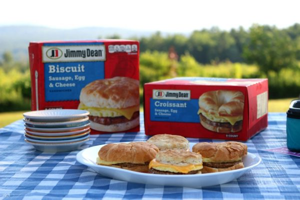 Easy Back to School Jimmy Dean Breakfast Sandwiches