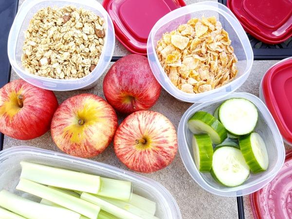 road trip healthy food