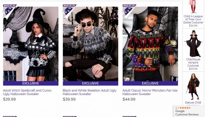 Ugly Halloween Sweaters! Where to get ugly Halloween sweater ideas!