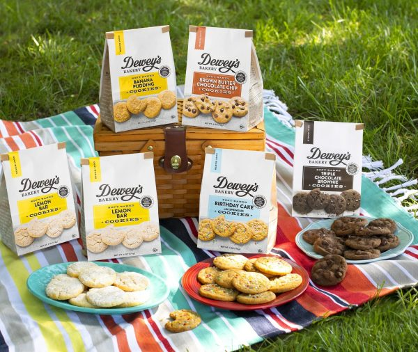 Every day​ is a special occasion when you're enjoying ​remarkably delicious Dewey's Bakery Soft Baked Cookies​! These cookies are baked with real, simple ingredients, and bring the magic of fresh Southern bakery treats to your home, no matter where you are! They're too good not to share!