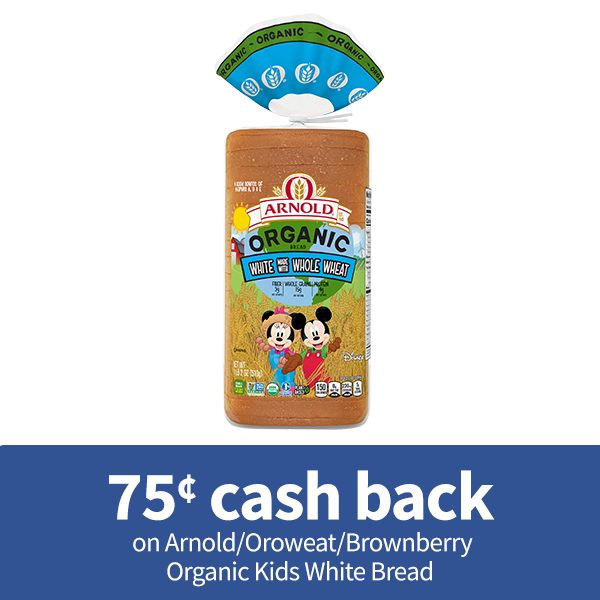 Oroweat/Arnold/Brownberry Organic Kids White made with Whole Wheat Bread
